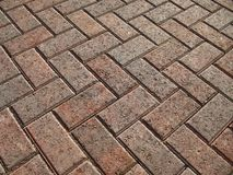 Brick Paver Landscape Royalty Free Stock Photos