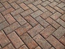 Brick Paver Landscape royalty free stock photos