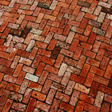 Brick paver pattern Stock Images