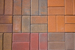 Brick Pavers Royalty Free Stock Image