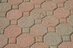 Brick pavers background texture Stock Photo