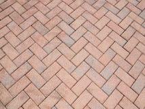 Brick pavers Stock Photo