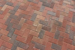Brick pavers Stock Image