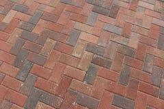 Brick pavers. A picture of brick pavers Stock Image