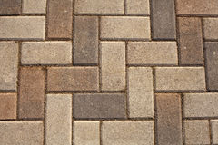 Brick Paving Royalty Free Stock Photography