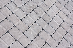 Brick paving background Stock Image