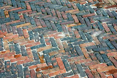 Brick paving Stock Images