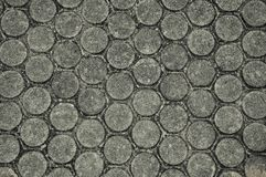 Brick paving Road Royalty Free Stock Photo