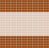 Brick perspective vector background Royalty Free Stock Images
