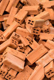 Brick Pile Stock Photo