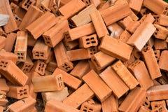 Brick Pile Stock Image