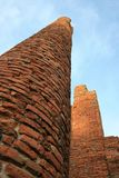 Brick pillars Royalty Free Stock Photos