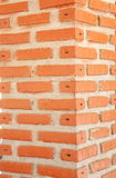 Brick pillars. Pillar brick red pavilion public facilities Royalty Free Stock Images
