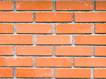 Brick presented on a different way Stock Photos