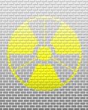 Brick radiation Royalty Free Stock Photography
