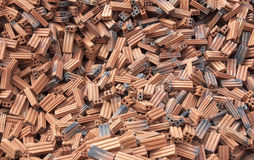 Brick red. Royalty Free Stock Images