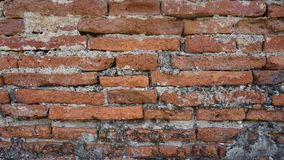 The brick red wall royalty free stock photo