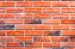 Brick red wall texture background Stock Photos