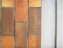 Brick and Render Background Royalty Free Stock Photos