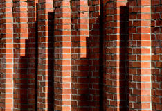Brick rhythm Stock Images