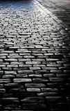 Brick road Royalty Free Stock Photos