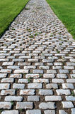 Brick Road. In a park Stock Photo