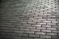 Brick Road Stock Image