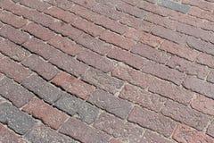 Brick Road Stock Photography
