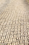 Brick road Royalty Free Stock Images