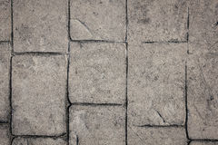 Brick road surface can use as background pattern or texture stock photo