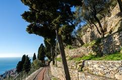 Brick road Royalty Free Stock Photo