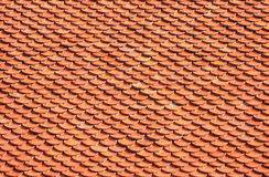 Brick roof tiles. Of Buddhist temple Stock Image