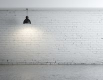 Brick room Royalty Free Stock Photo