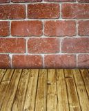 Brick room Royalty Free Stock Images