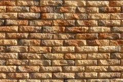 Brick_02 ruvido giallo immagine stock libera da diritti