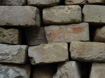 Brick sample texture Royalty Free Stock Images