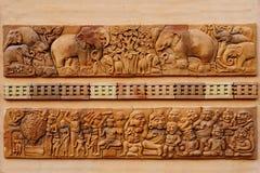 Brick sculpture Stock Photos