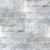 Brick seamless texture old concrete with cracked Royalty Free Stock Photography
