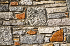 Brick in  sempione street italy  varese abstract    and marble Stock Image