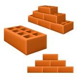 Brick set Royalty Free Stock Images