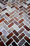 Brick sidewalk abstract Royalty Free Stock Photography