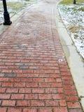 Brick Sidewalk Detail Stock Photo