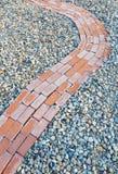 Brick Sidewalk Detail Stock Photography