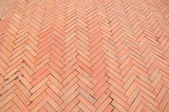 Brick Sidewalk Royalty Free Stock Images