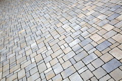 Brick sidewalks Royalty Free Stock Photo