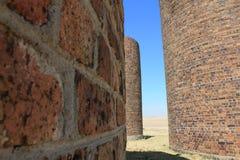 Brick Silo Stock Image