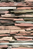 Brick Slab Wall Stock Photo