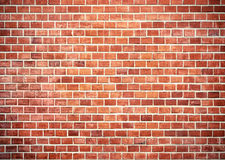Brick small cr res. Background of red brick wall texture Stock Photo