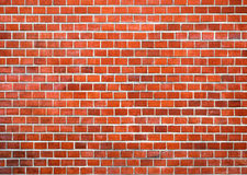 Brick small norm. Background of red brick wall texture Royalty Free Stock Images