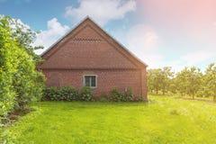 Brick stable Stock Image